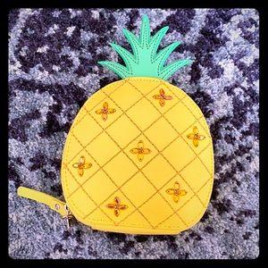 Kate Spade ♠️ Pineapple Coin Purse